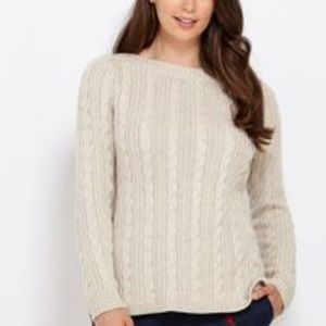 Vineyard Vines Cable Knit Bot Neck Sweater